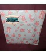 Vintage Baby Gift Wrap Wrapping Paper Dennison 2 Sheets Boy Girl New Old... - $10.00
