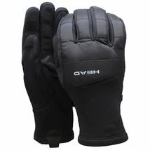 HEAD Men's Black Hybrid Sensatec Touchscreen Warm Fleece Lined Gloves Small NWT image 1