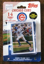 2009 CHICAGO CUBS TOPPS TEAM SET OF 14+1 CARDS RAMIREZ LEE SORIANO ZAMBRANO - $4.94