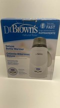 Dr. Brown's Natural Flow Deluxe Bottle Warmer NIB - $17.77