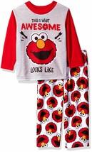 Sesame Street Toddler Boys' Elmo 2-Piece Pajama Set - $14.99