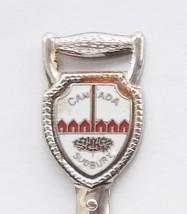Collector Souvenir Spoon Canada Ontario Sudbury I Dig Shovel Cloisonne E... - $4.99