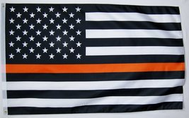 Thin Orange Line Search & Rescue (SAR) USA Memorial Flag 3' X 5' Indoor ... - $9.95