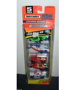 Matchbox Collection Land Sea & Air 5-pack NEW helicopter Boats Trucks - $9.00