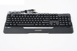 Abko Hacker K300 English Korean Plunger LED Wired Gaming Keyboard image 2