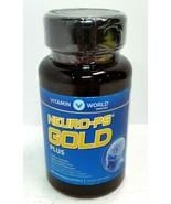 Vitamin World NeuroClear Gold Plus 30 rapid release softgels EXP 11/19 - $19.93