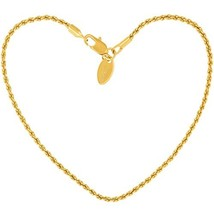 Lifetime Jewelry Anklets for Women Men and Teen Girls - 24K Gold Plated ... - $30.27