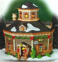 Department 56 ROUNDEL COTTAGE New England Village Lit Building #799924 New - $49.90
