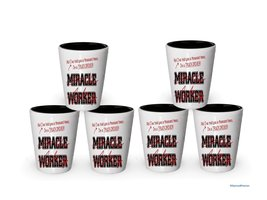 I'm Truck Driver shot glass- Not a Miracle Worker -Truck Driver Gifts (6) - $29.35