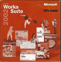 Microsoft Works Suite 2002 Software - $9.95