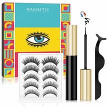 Magnetic Eyeliner & Magnetic Lashes Kit, Magnetic Eyelashes w/ Eyeliner ... - $19.79