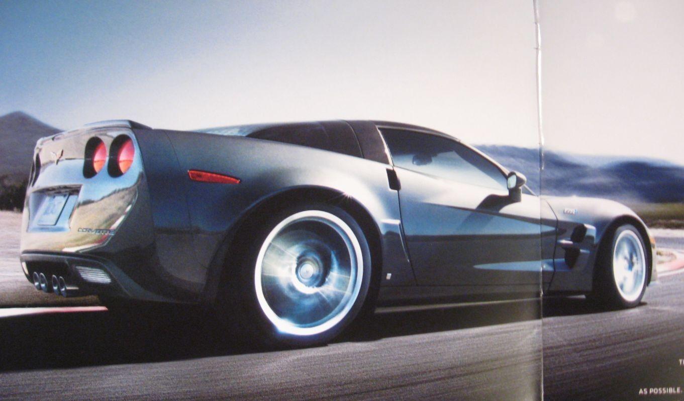 2010 Corvette Prestige Brochure & Color Paint & Trim Folder,  Z06 LS7  MINT