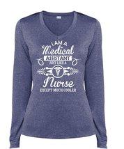 I Am A Medical Assistant Just Like A Nurse T Shirt, Being A Nurse T Shirt, Cool  - $29.99+