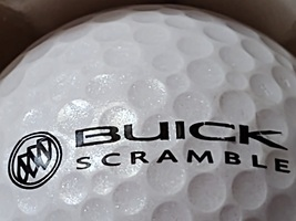 Buick Golf Emblem symbol Mojo Buick Scramble Logo Golf Ball Nike Adverti... - £6.27 GBP