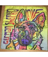 Love German Shepherd Dog Pillow Case - $19.99