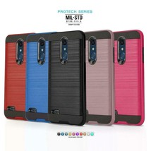 Phone Case for LG K30, [Protech Series] Shockproof Defender Hybrid Slim ... - $19.90