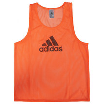 Adidas Training 14 Team Pinnies Scrimmage Vest Soccer Football Orange FI... - $15.99