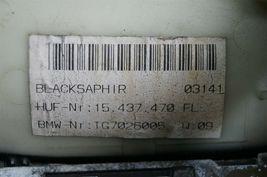 02-04 BMW E65 Exterior Outside Door Handle Front Left Driver - LH [BLACKSAPHIR] image 5
