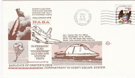 SUPERSONIC SLED ESCAPE SYSTEM TESTS HOLLOMAN AFB NM DEC 1 1976 SPACE VOYAGE - $1.78