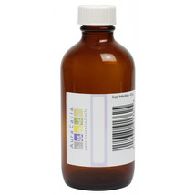 Empty Amber Bottle with Writeable Label, 4 oz by Aura Cacia - $1.93