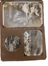 Antique Photo Book Album Boy Scouts 1914 Hotel Bellavista Chile Argentina image 2