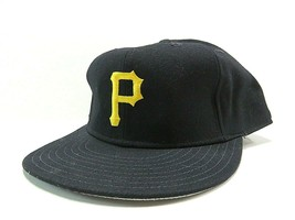 Vtg New Era Pittsburgh Pirates MLB Baseball Fitted Hat Size 7 3/4 Made i... - $47.48