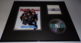 Duran Duran Framed 16x20 Greatest CD & Rolling Stone Cover Display - $52.00