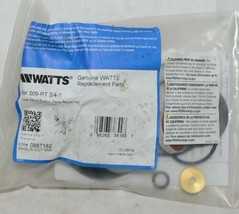 Watts Total Valve Rubber Parts Repair Kit 3/4 Inch 0887182 image 1