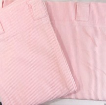 Pottery Barn Kids Corduroy Pink 2-PC 88 x 63 Front Tab Belt-Loop Drapery... - $52.00