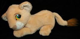 "Lion King Plush Disney Simba 16"" Long Young - $17.42"