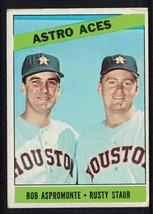 1966 Topps Rusty Staub Astro Aces VG Houston Astros #273 - $2.00