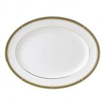 Wedgwood Oberon 15.25in Oval Platter Bone China # 50116603002 Discontinu... - £157.82 GBP