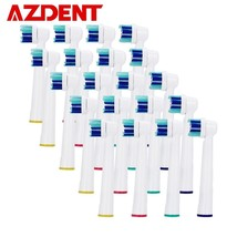 AZDENT® Professional 20pcs Electric ToothBrush Heads Replacement AZ-2Ro ... - $20.24