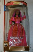 1999 Moroccan Barbie Dolls of the World Barbie Collector Ed Mattel Dented box - $24.74