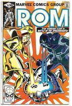 Rom Spaceknight issue 20 VG-F Bill Mantlo Sal Buscema Joe Sinnott July 1981 - $3.95