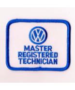 VW Master Registered Technician Patch New Volkswagen Mechanic Garage Oil... - $29.99
