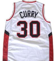 Stephen Curry #30 Davidson College Wildcats Basketball Jersey White Any Size image 2