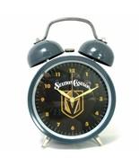 New Vegas Golden Knights NHL Vintage Style Alarm Clock Promo Station Cas... - $26.97