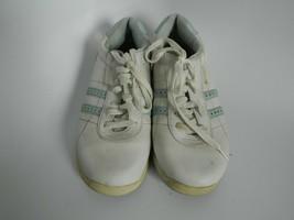 Dexter Womens White Blue Bowling Shoes Size 8.5M - $24.99