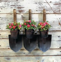 Three Shovels Wall Planters - $44.95