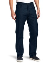 NEW LEVI'S MEN'S 501 SHRINK TO FIT STRAIGHT LEG JEANS BUTTON FLY COBALT 501-1662