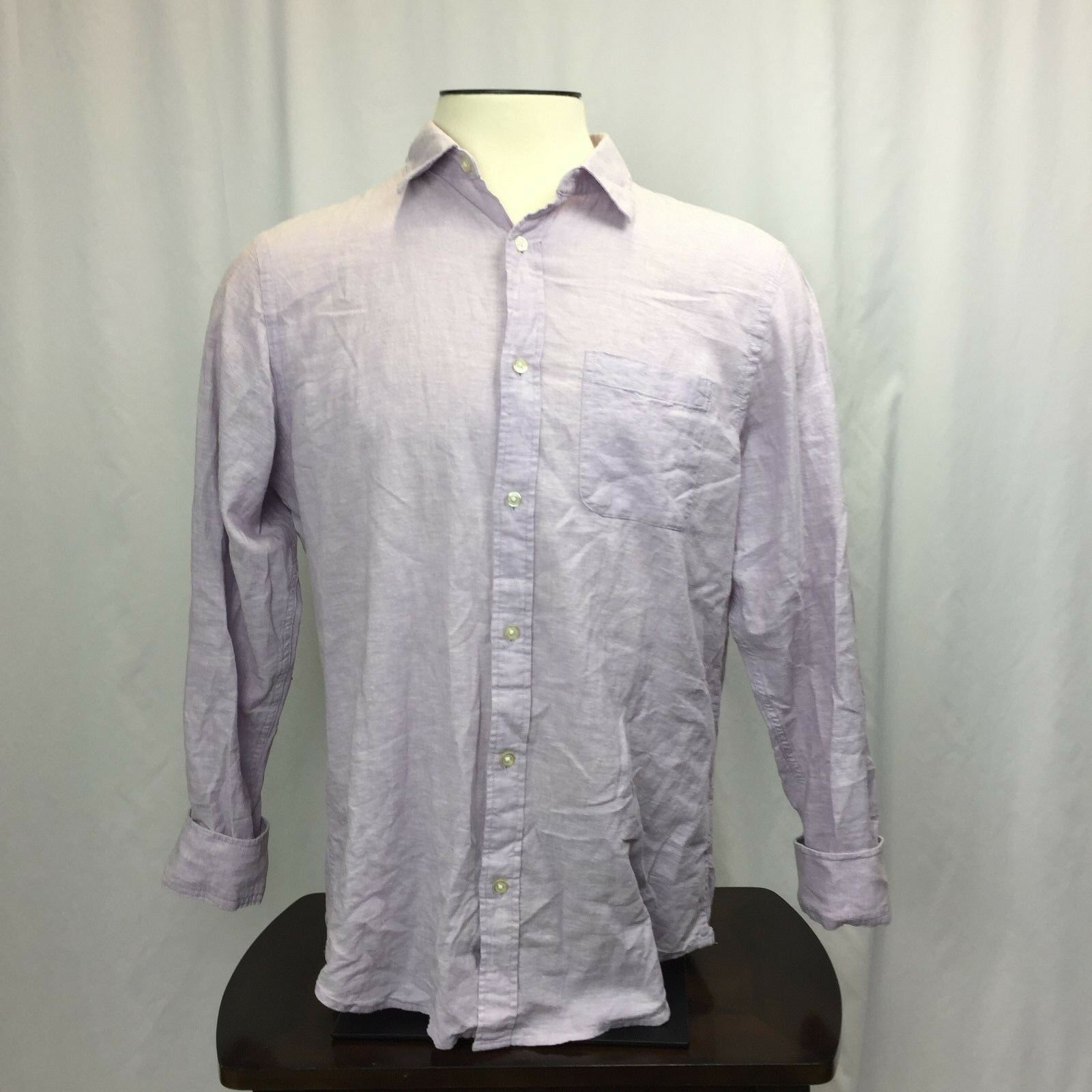Banana Republic Men's Long Sleeve Button Up Large - $15.29