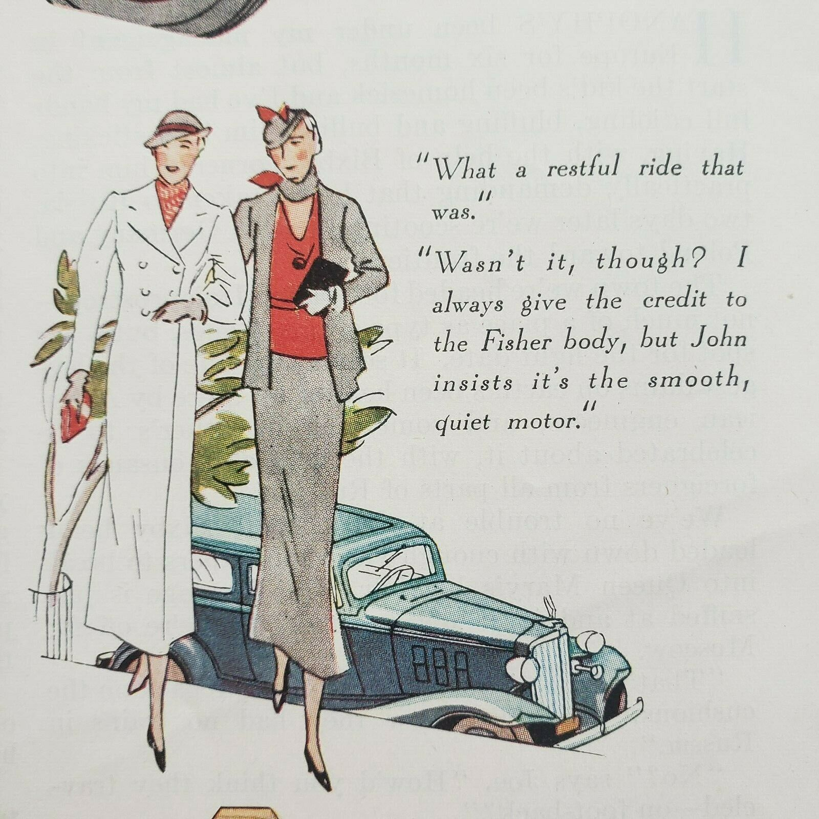 Primary image for 1933 Saturday Evening Post Chevrolet Print Ad No Wonder Chevrolet's The Leader