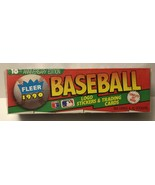 1990 Fleer Baseball Cards [Factory Complete Set] 10th Anniversary Edition  - $12.00