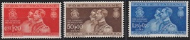 1930 Royal Wedding Set of 3 Italy Postage Stamps Catalog Number 239-41 MNH