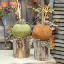 Small Pumpkin Stump - $45.76