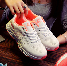 pa031 low-cut air cushion sneaker w breathable mesh surface, US Size 6-9, white - $38.80