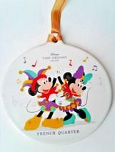 Disney World Port Orleans Resort French Quarter Large Ceramic Ornament, NEW - $30.00