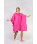 HAIR STYLIST SALON BARBER HOT PINK NYLON CUTTING CAPE PERSONALIZED Up to... - $29.99