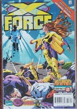 Marvel Comics  X FORCE Vol 1 No. 58 Onslaught Impact 2 Sept. 1996  - $1.95